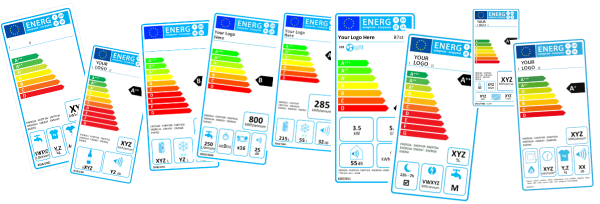 Types of European Energy Labels